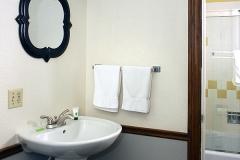Guest Bathroom Vanity Clover Creek Inn