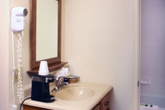 Bathroom Vanity at Clover Creek Inn