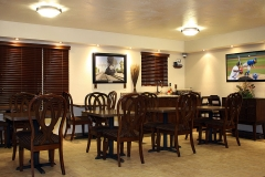 Breakfast Room Seating at Clover Creek Inn