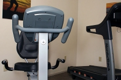 Cardio Equipment at Clover Creek Inn
