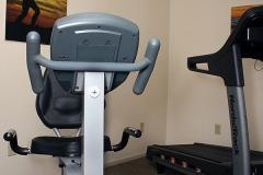 Cardio Equipment at Clover Creek Inn
