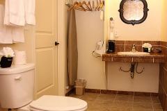 Guest Bathroom at Clover Creek Inn