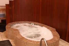 Sunken Tiled Hot Tub at Clover Creek Inn